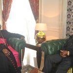 Audiencia del Jefe de Estado con el Obispo de Mongomo