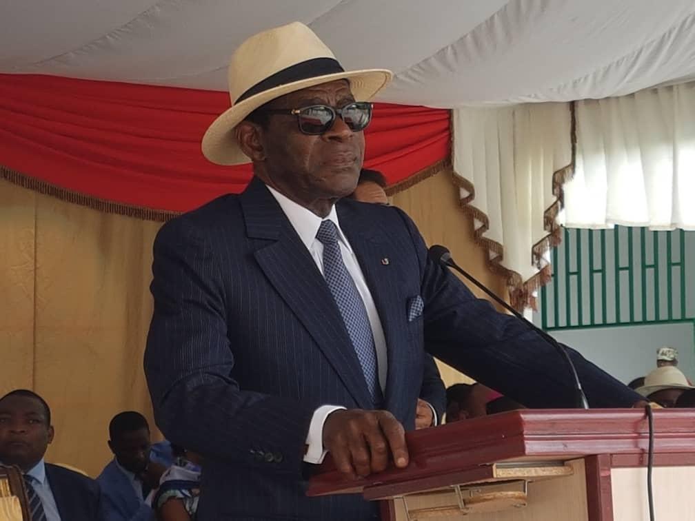 El Jefe de Estado preside el acto de inauguración de gasolineras en la autovía Bata-Mongomo