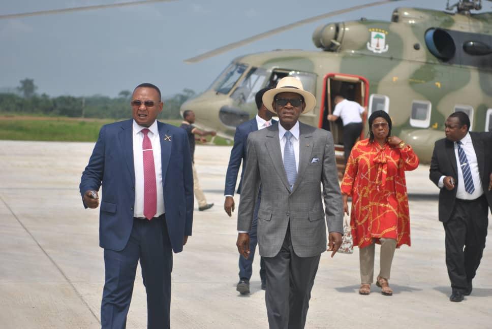 El Jefe de Estado regresa a Malabo