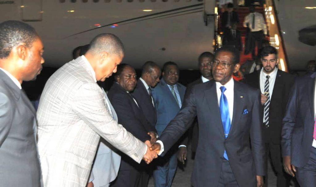 El Jefe de Estado regresó de su viaje express a Ruanda