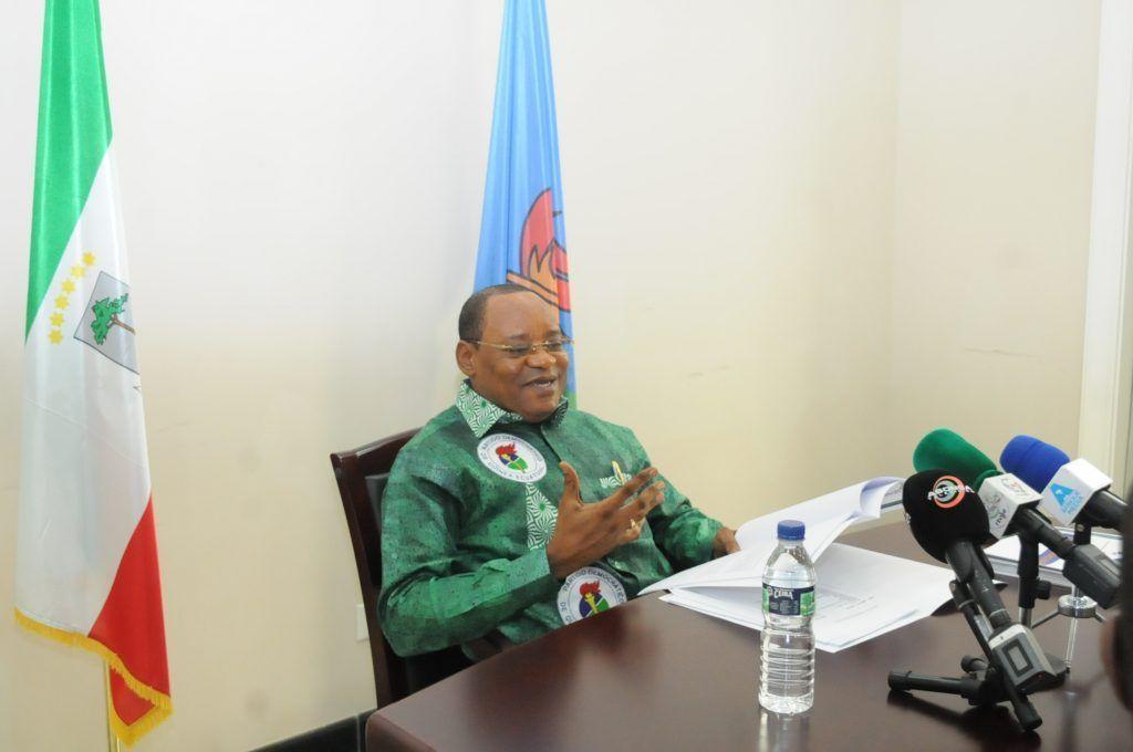 Reunión del Secretario General del PDGE con los responsables de las estructuras distritales del partido de la Región Insular