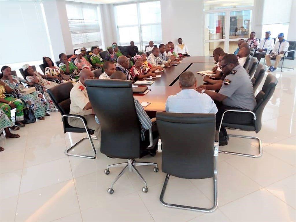 Reunión de información de la Comisión de Seguimiento del PDGE en Djibloho