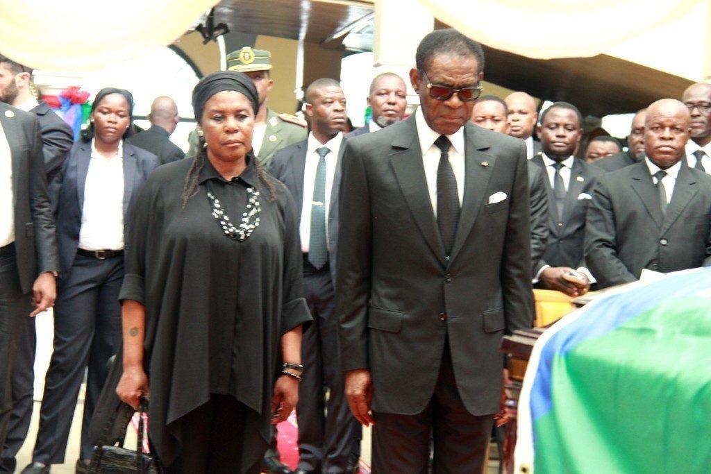 Funeral de Estado del Director General de la Prensa Presidencial