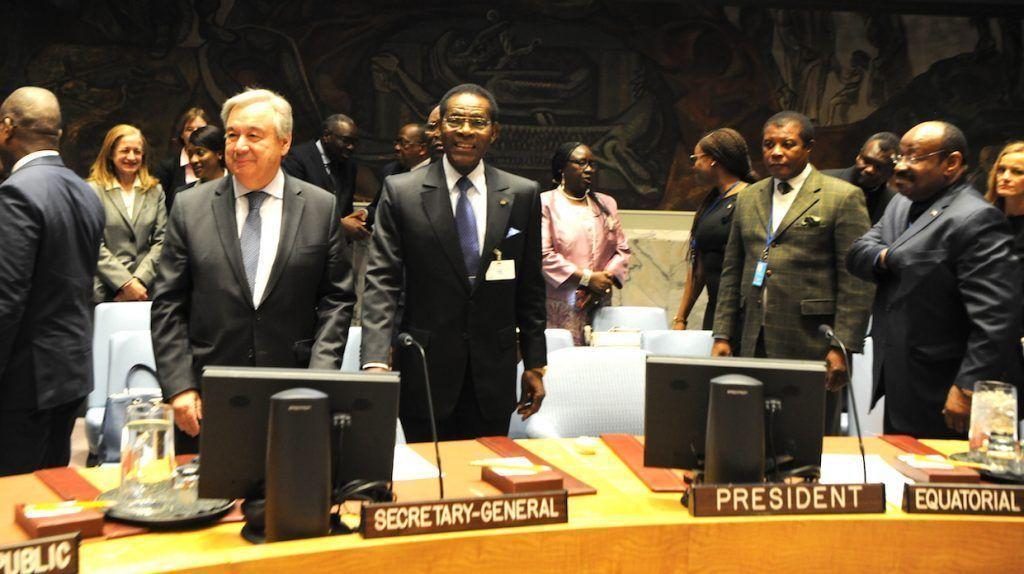 El Presidente ecuatoguineano dirige el Debate de Alto Nivel sobre Paz y Seguridad en África