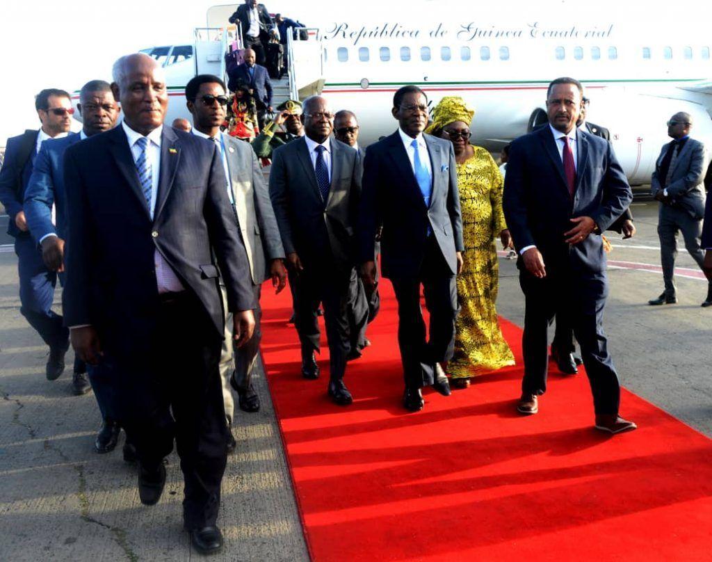 El Jefe de Estado viaja a Etiopía para participar en la Cumbre de la UA