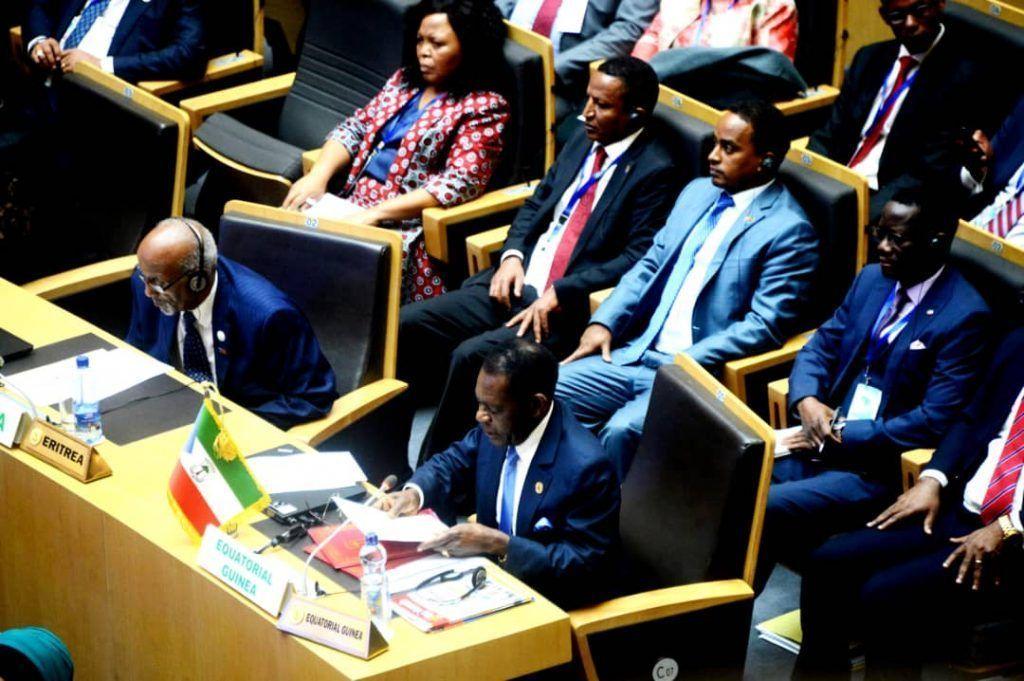 Discurso del Jefe de Estado en la 32º Sesión Ordinaria de la Unión Africana