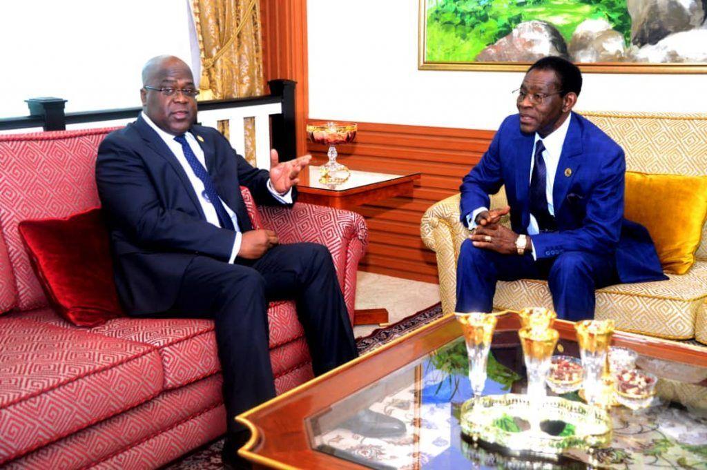 El Presidente se reúne con su homólogo de la República Democrática de Congo