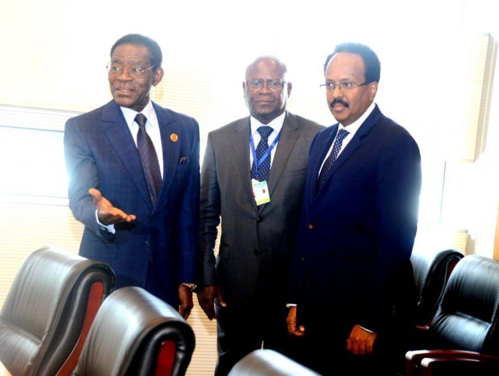 Encuentros del Jefe de Estado en Addis Abeba