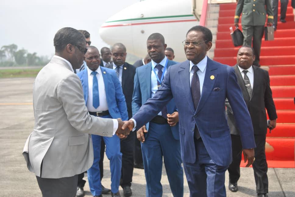 El Jefe de Estado regresa a Malabo tras la clausura de la 32ª Asamblea General de la UA