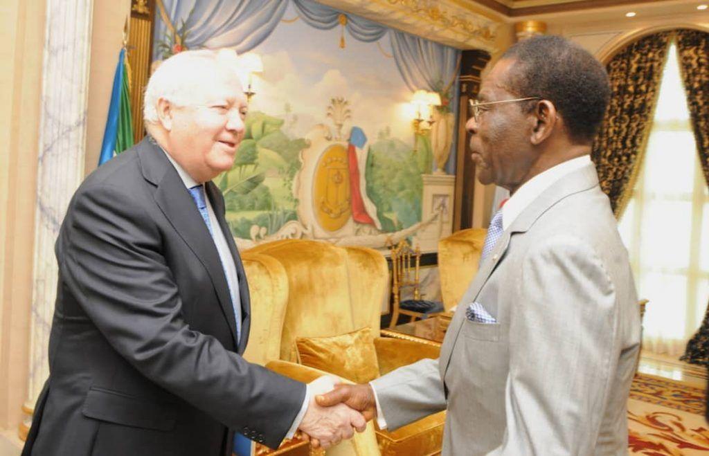 El Presidente de la República recibe a un Alto Representante de la ONU en la Alianza de las Civilizaciones