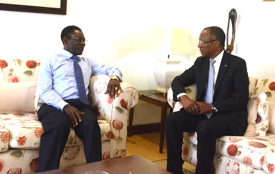 Audiencia del Presidente de la República con el Primer Ministro de Cabo Verde