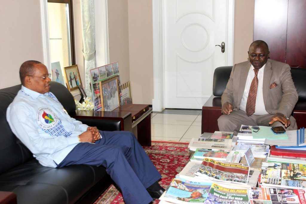 Audiencia con el Embajador de Guinea Conakry