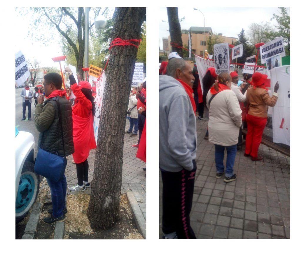 Nuevo ridículo frente a la Embajada en España