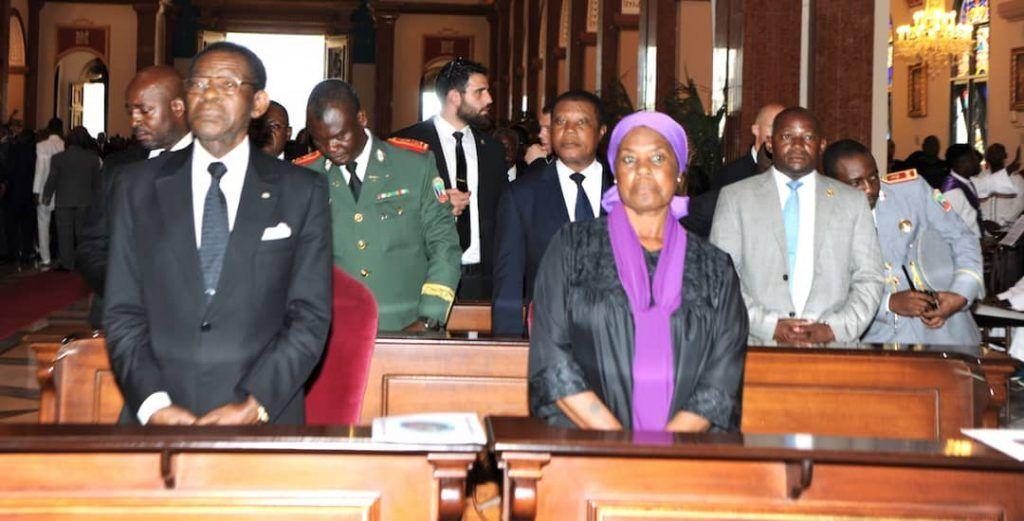 Los restos mortales de Antonio Mba Nguema reciben sepultura en Mongomo