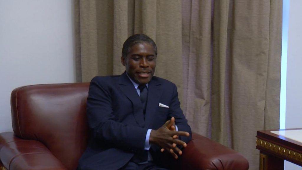 El Presidente de la Comisión de la UA felicita a S.E. Teodoro Nguema Obiang Mangue
