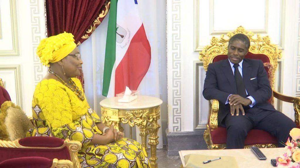 El Vicepresidente recibe a la Comisaria de Asuntos Políticos de la Unión Africana