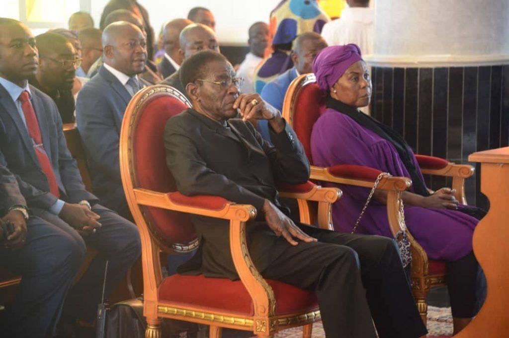 Misa de Requiem por el fallecido Ministro de Seguridad Presidencial