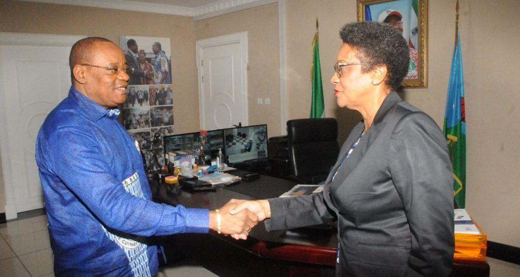 El Secretario General del PDGE recibe en audiencia a la Diputada de la Red de Mujeres Parlamentarias de la CPLP