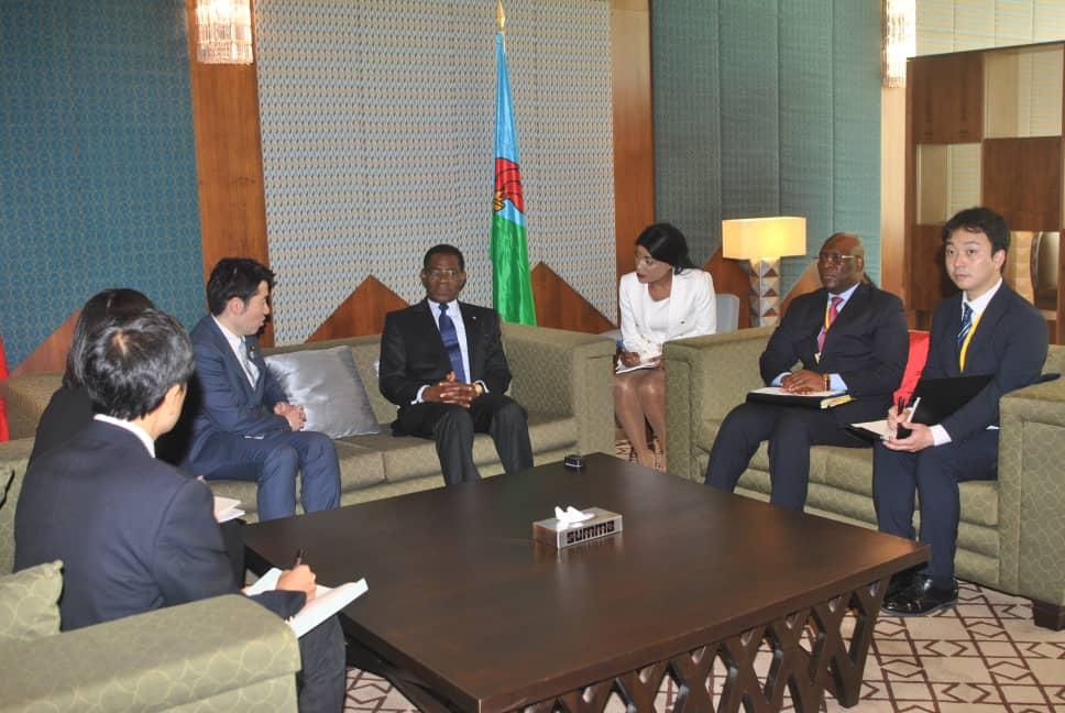 Audiencias del Presidente con las delegaciones participantes en la Asamblea del BAD