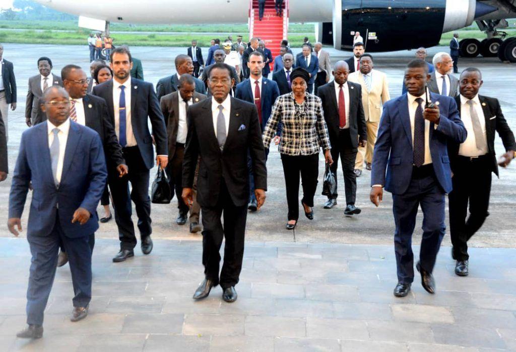 Regreso de la pareja presidencial de Etiopía