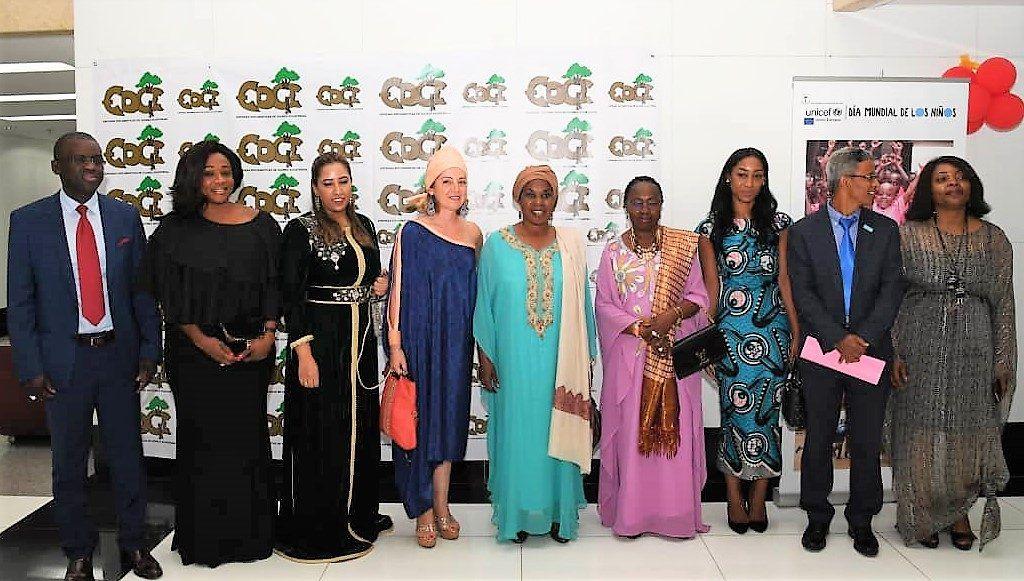 La Primera Dama en la gala benéfica del Día del Niño Africano