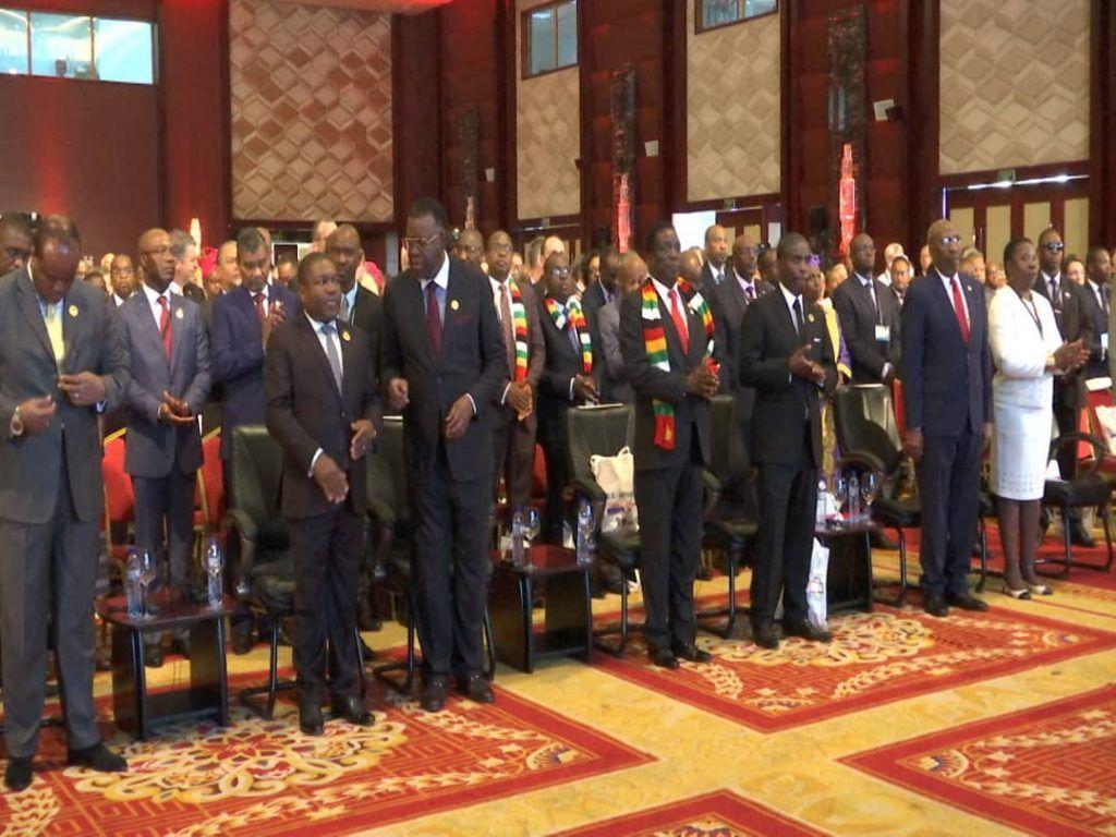 Ceremonia inaugural de la Cumbre EE.UU-África