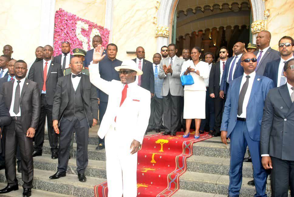 Misa por el aniversario del Hermano Militante S. E. Teodoro Nguema Obiang Mangue