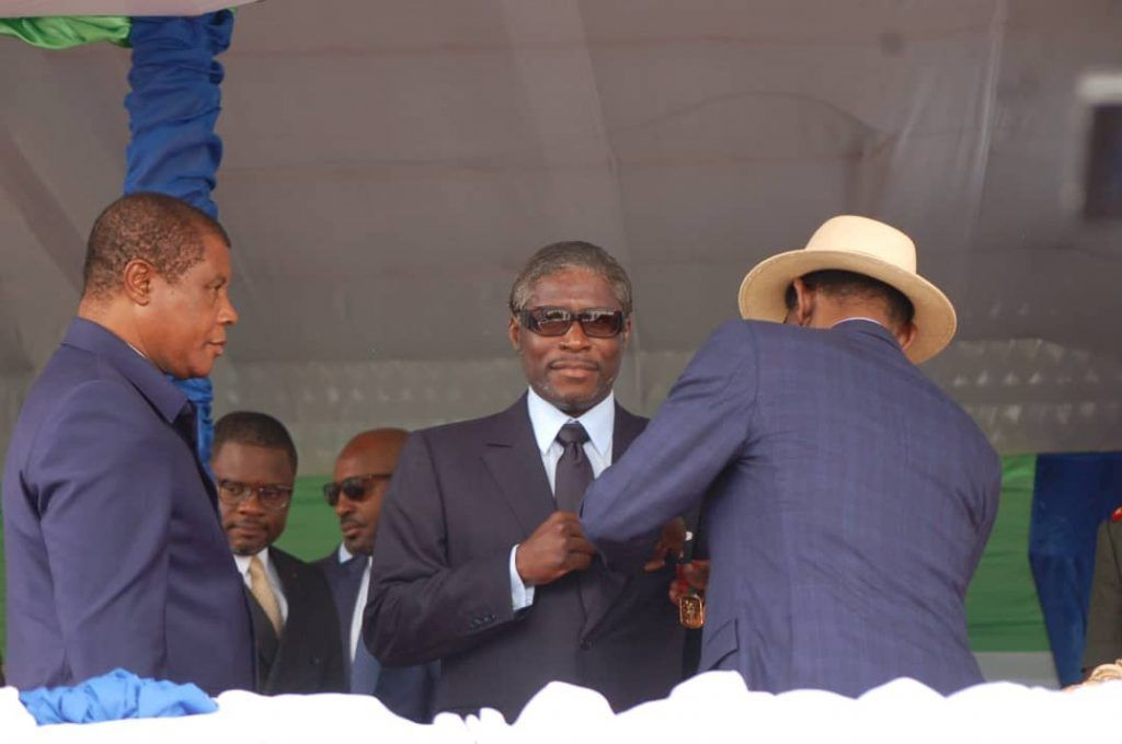 El Vicepresidente de la República recibe la Medalla de Primera Clase al Mérito Militar