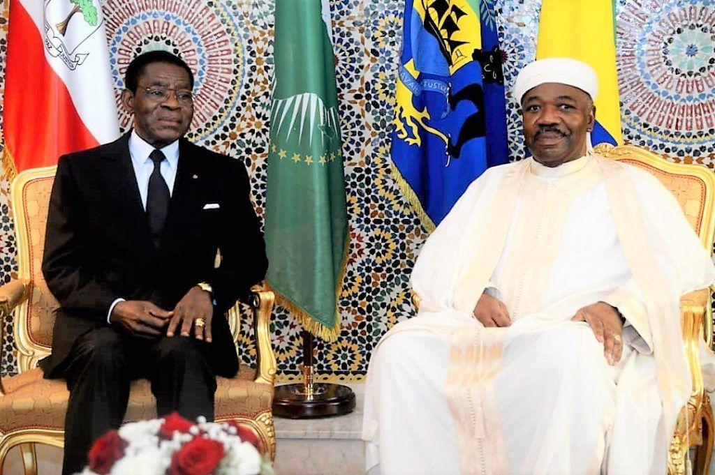 Fraternal encuentro entre los Presidentes de Guinea Ecuatorial y Gabón
