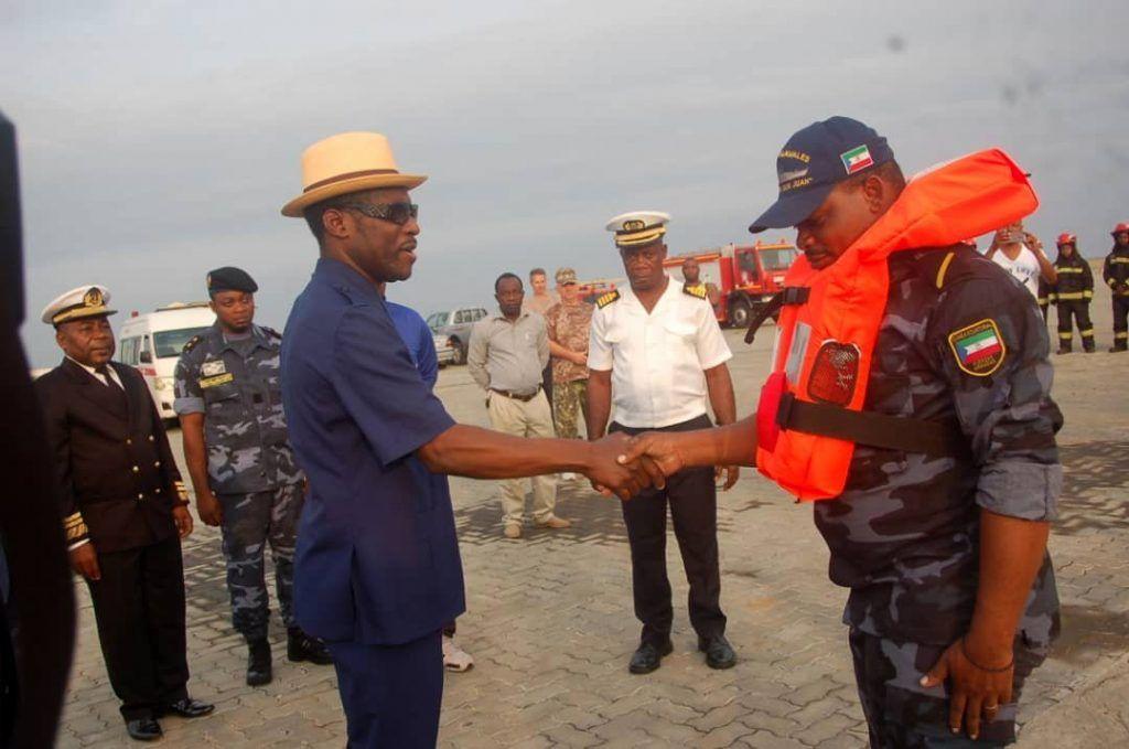 Las FAS de Guinea Ecuatorial rescatan a siete personas víctimas de un accidente aéreo