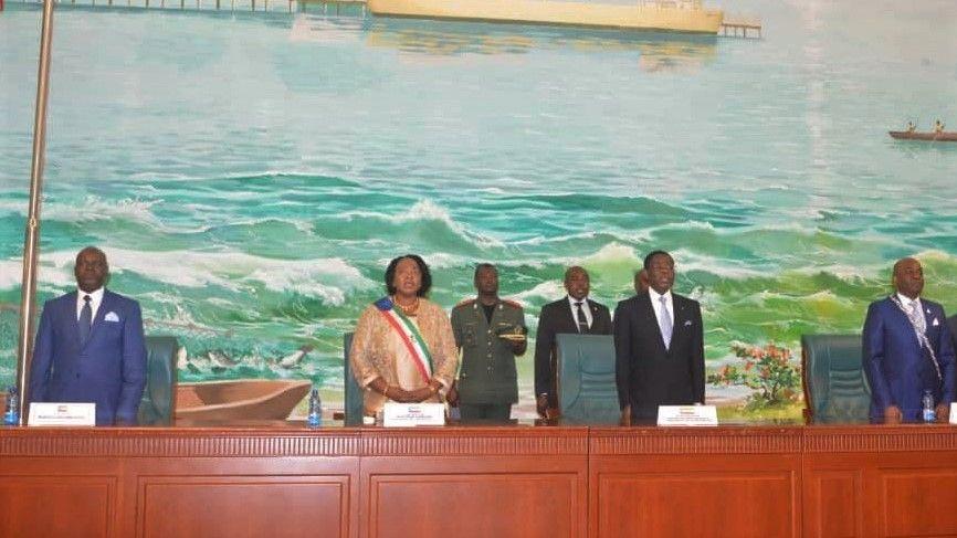 Apertura de la Segunda Sesión Ordinaria del Parlamento Nacional