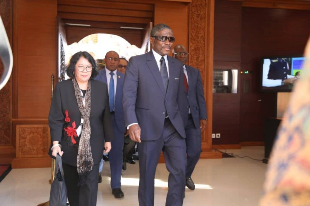 El Vicepresidente de la República asiste a la Cumbre de Infraestructuras Indonesia-África