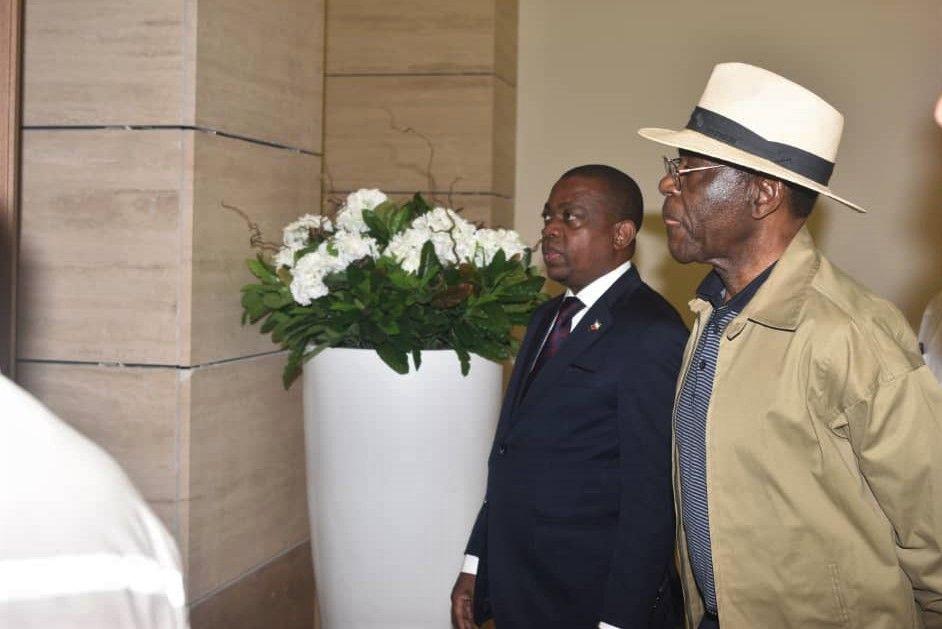 El Jefe de Estado visita el Museo y Biblioteca Teodoro Obiang Nguema Mbasogo de Mongomo