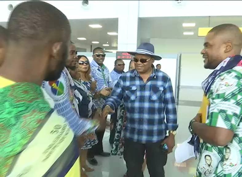 Una delegación de la Oficina Nacional del PDGE viaja a Nigeria