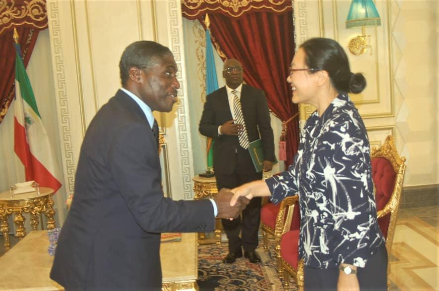 Malabo y Pekín repasan sus relaciones de amistad y cooperación