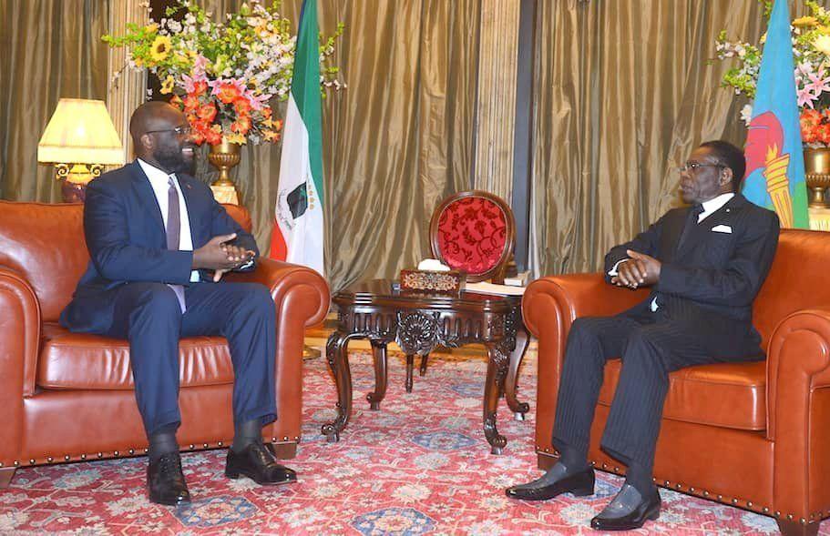 Tres nuevos embajadores presentan cartas credenciales ante S.E. Obiang Nguema Mbasogo