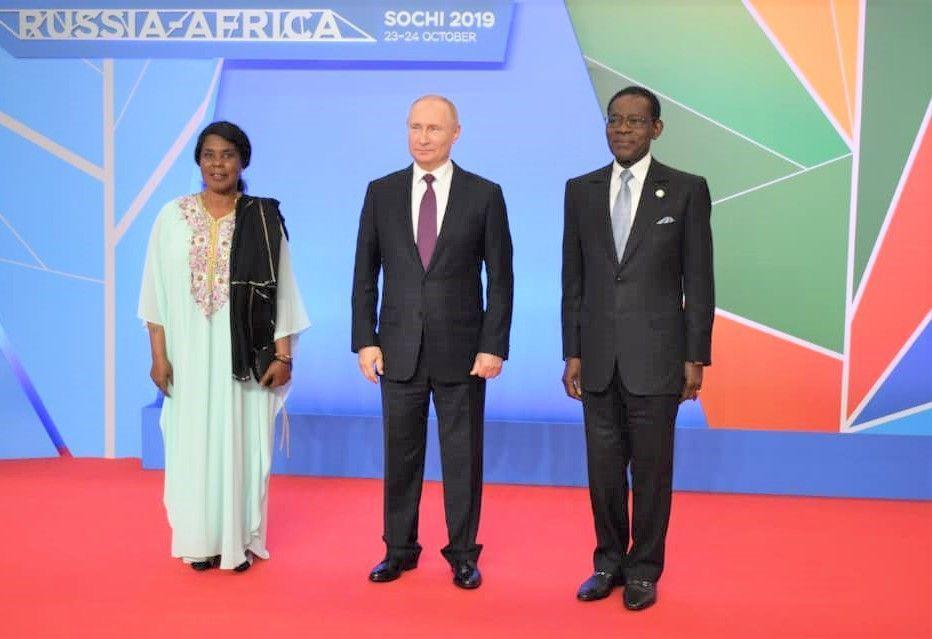 El Presidente de Rusia recibe a la Pareja Presidencial