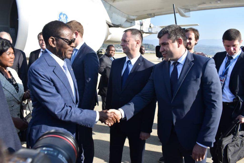 La Pareja Presidencial asiste a la Cumbre Rusia-África en Sochi, Rusia