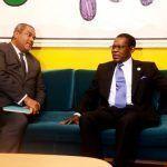 Audiencia del Presidente con el Ministro Consejero de Burkina Faso