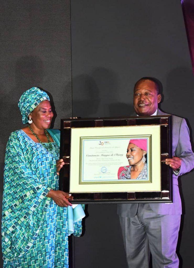 Entrega del Premio Honorífico de Protección a la Infancia a la Primera Dama