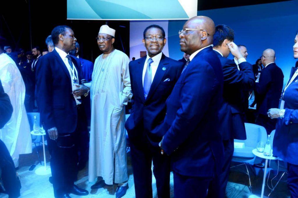 El Jefe de Estado participa en la II Cumbre de París sobre la Paz