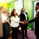 El Jefe de Estado se reúne con la coordinación del PDGE de Francia