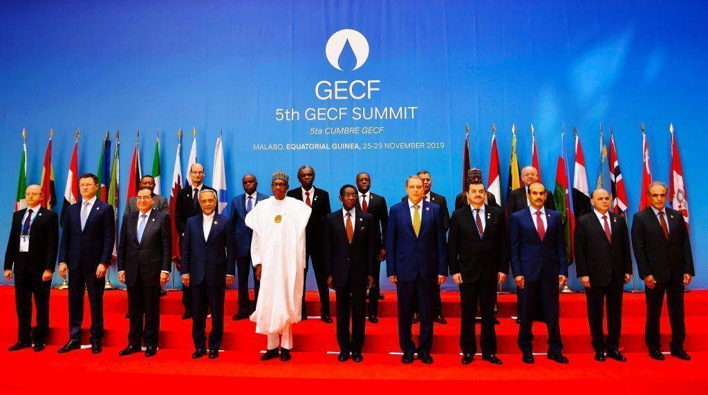El Jefe de Estado preside la V Cumbre del Foro de Países Exportadores de Gas