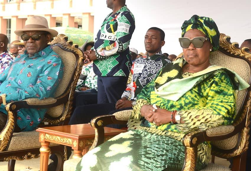 Moción de felicitación del Secretario General al Hermano Militante Obiang Nguema Mbasogo