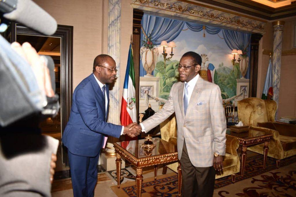 El Jefe de Estado recibe al nuevo presidente del Consejo Ejecutivo de la UNESCO