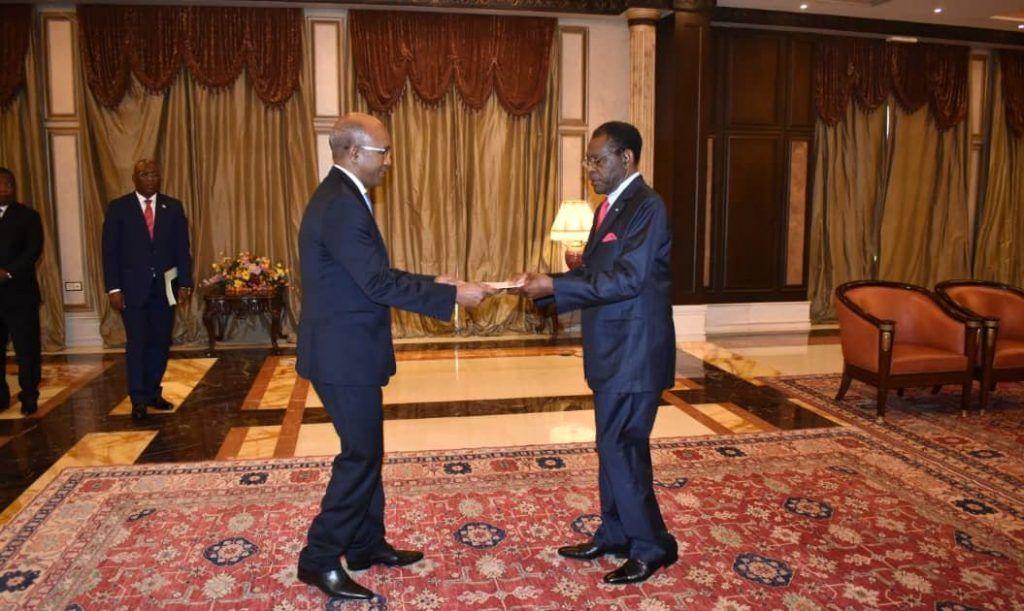 Presentación del nuevo Embajador de Etiopía ante el Jefe de Estado