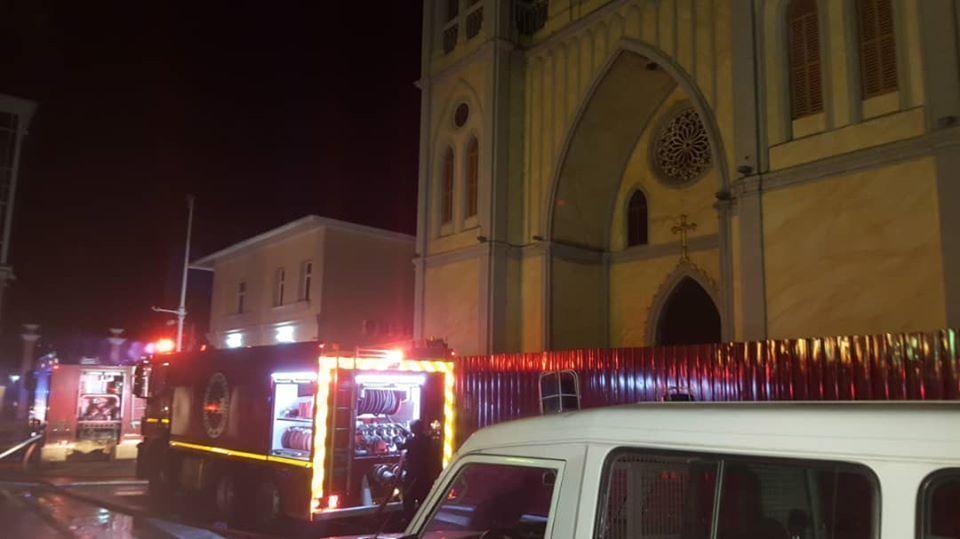 Comunicado del Gobierno sobre el incendio en la Catedral de Malabo