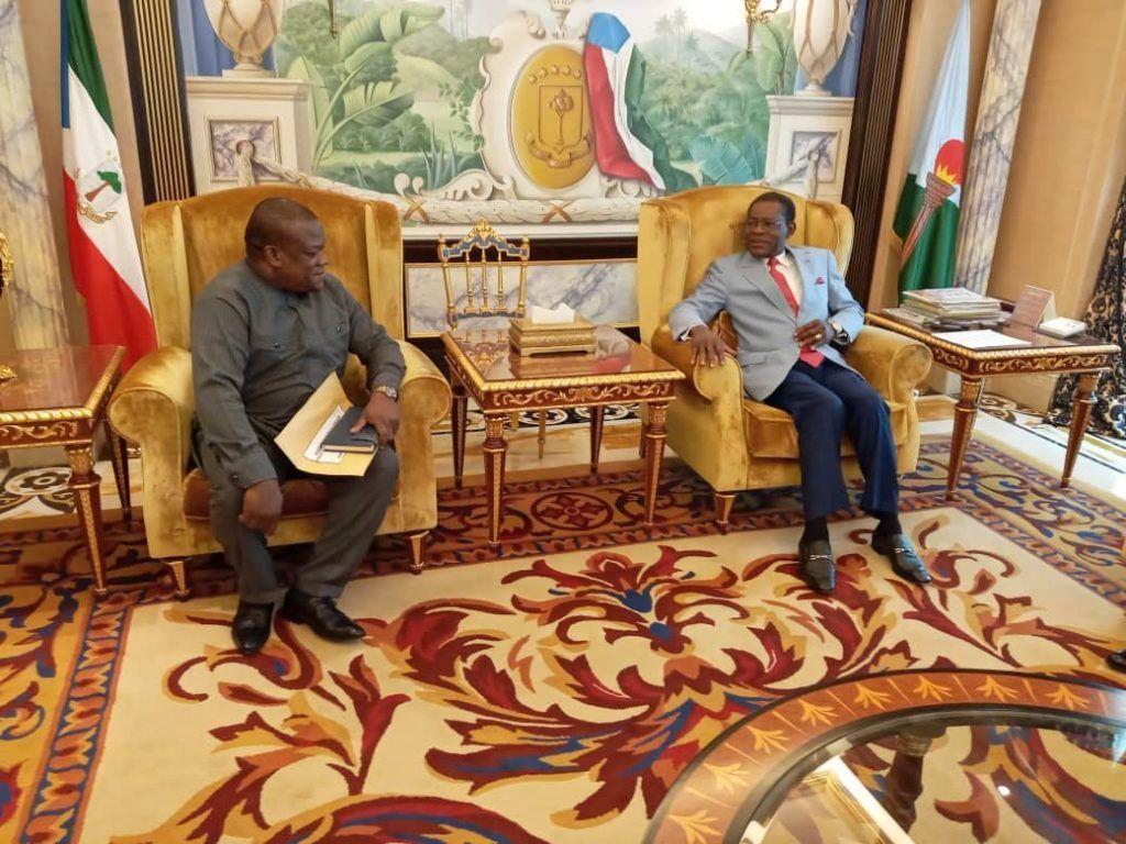 El Jefe de Estado recibe al Enviado Especial de Sierra Leona