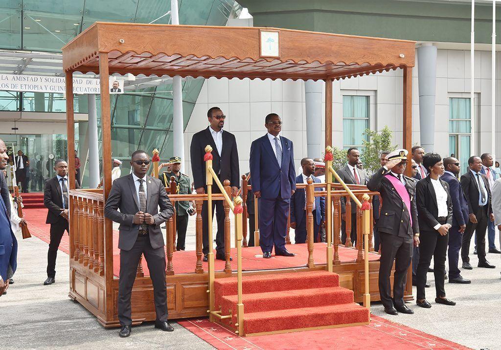 Concluye la visita del Primer Ministro de Etiopía