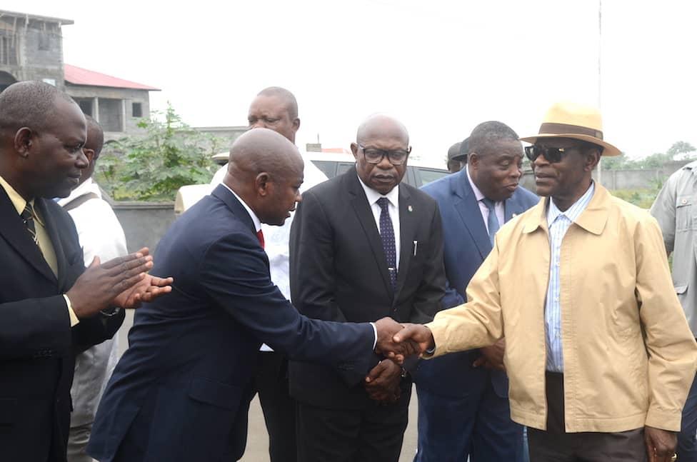 El Presidente visita varias infraestructuras en la ciudad de Malabo